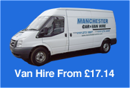 Get a quote for a van